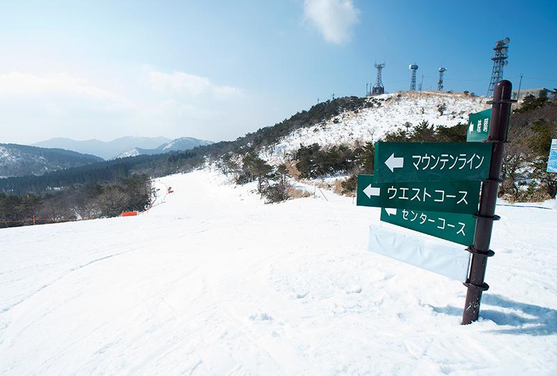 スキー 場 高原 峰山
